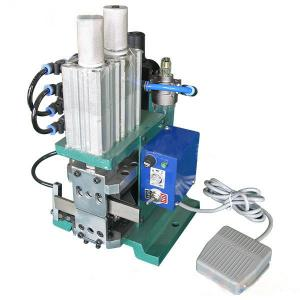 China pneumatic peeling twisting machine,multi-core wire peeling twisting machine 4FN on sale