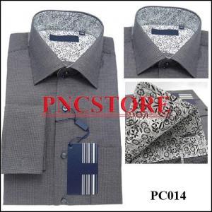 China High quality dress shirts,custom made shirts,long sleeve shirt,men's clothing,cufflinks shirts on sale