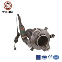 Self Centering Pipe Cutting And Beveling Machine Chuck Type Clamshell Pipe Cutter