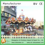 Luxury carousel series entertainment park carnival park carousel for family