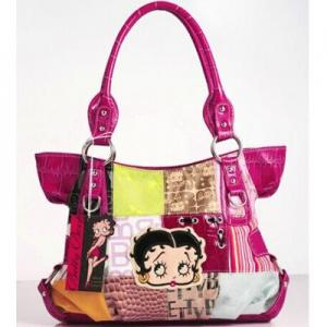 China Wholesale new design Betty Boop women's handbag on sale