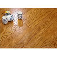 Archaize Red Oak Solid Wood Flooring For Living Room Emboss Pattern