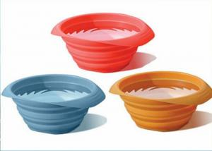 China Portable Durable Silicone Bowl 28 Oz Food Grade Folding Silicone Dog Bowl For Drinking on sale