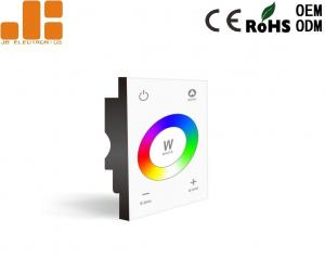 China AC100 - 240V DMX512 Touch Panel LED Dimmer Switch For 4CH RGBW LED Lights Control on sale