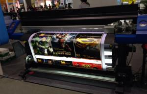 China High Speed UV Epson Inkjet Printer 1700mm With White / Grossy ink on sale