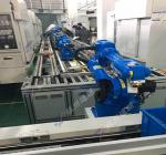 Environmental Protection Robot Rail System For Loading And Unloading High Precision