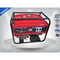 5kw Portable 3000rpm Gasoline Generator Set Low Noise With AVR