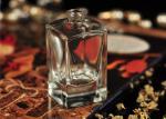 Antiguidade de vidro quadrada das garrafas de perfume do curso com cuidados pessoais