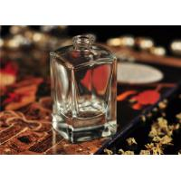 Travel Square Glass Perfume Bottles Antique With Personal Care