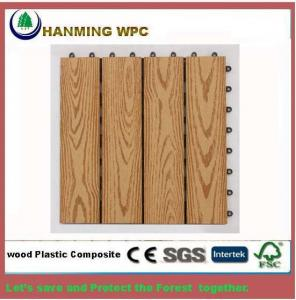 China 300X300X22mm WPC DIY interlocking Decking on sale