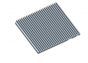 China Professional Heatsink Extruded Aluminium Profile , Milling Heatsink Extrusion Profiles on sale