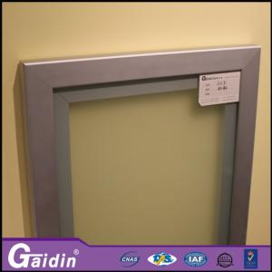 China mill finished wooodgrain glass insert 1000 to 6000mm kitchen cabinet aluminum door frame on sale