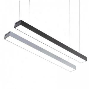 China 100lm / W 1200mm 2400mm Corner Led Linear Light Diffuser 5 Years Warranty on sale