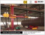 Auto Rotation Welding Manipulators Equipment Remote Control