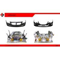 automotive bumper tooling development, bumper mouldfor car exterior using