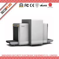Airport Dual 160kv X Ray Security Scanner Horizontal / Vertical View Multi Languages