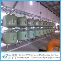 China Automatic Sand Filter With Siemens Control System on sale