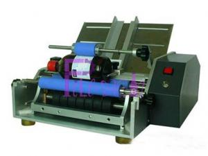 China Semi Automatic Industrial Labeling Systems With Wet Glue Paper Labels on sale