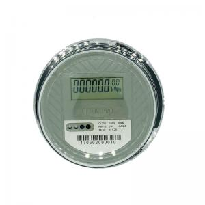 China Transparent Cover Single Phase Digital Power Meter , IP54 Single Phase Energy Meter on sale