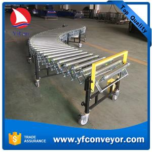 Flexible Powered Loading Unloading Roller Conveyors for sale