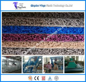 China The Professional Manufacturer of PVC Coil Mat Carpet Production Line PVC Coil Mat Coil Car Mat Machine on sale