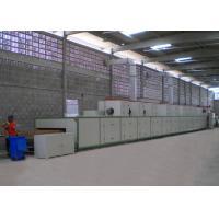 Cadena de producción plana del moldeado de la pulpa del transportador secador/línea de sequía