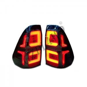 China Yellow And Red LED Dynamic Car Tail Lights For Hilux Revo 2015-2016 on sale