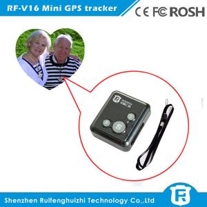 China Personal wearable gps tracker chips elderly with free IOS& Android APP software on sale