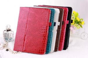 China Colorful crocodile leather case Samsung Tablet Covers Tab S T800  with Stand on sale