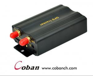 China Vehicle Car GPS tracker with Acc alarm,Door alarm,Shock sensor alarm tk103 on sale