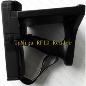 China time attendance Above 10meters long range uhf rfid handheld reader with handheld software on sale
