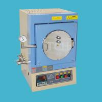 China 1100°C 7.6 Liter Vacuum Chamber Furnace with feedthrough flange - VBF-1200X-H8 on sale