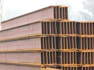 China Haces del acero estructural H, secciones laminadas en caliente del haz de H, sección JIS G3101, JIS G3106, JIS G3136, JIS G3192 del haz de acero de I on sale