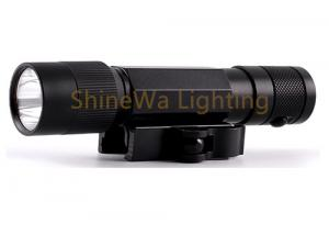 China Durable Tactical Rail Mount Flashlight Customized Laser Sight Long Run Time on sale