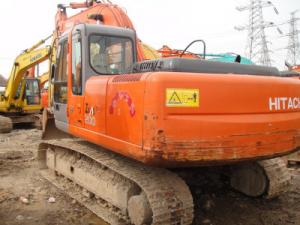 Used Japan crawler hydraulic excavator Hitachi ZAXIS 200-6 GOOD