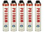 Professional B2 Fire Resistant  PU Foam Spray / Polyurethane Foam 750ml