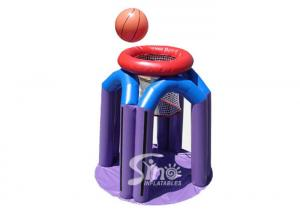 China Heat welding giant inflatable basketball monster water toys for kids and adults beach fun on sale