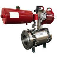 Small Pressure Loss Actuator Valve Electric Pneumatic Operated Valve FOOWELL
