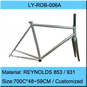 China REYNOLDS 853 Road Bike Frame / Lightest Road Bicycle Frame Manufacturer on sale