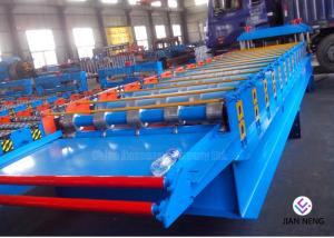 China Glazed Tile Sheet Metal Forming Equipment , High Precision Roll Forming Equipment on sale