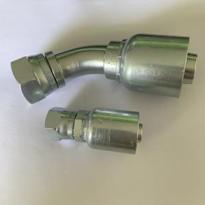 China One-piece fitting/hydraulic hose connector in carbon steel and stainless on sale