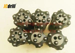 China 36mm 7 Buttons Rock Button Bits High Performance ISO / CE Certification on sale