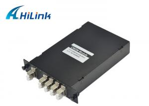 China Low Insertion Loss CWDM Mux Demux Module , CWDM Fiber Optic Mux 1270nm - 1610nm on sale