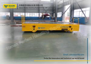 China Battery Powered Rail Transfer Cart Bay to Bay Transport Equipment on Rails on sale