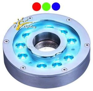 China 27W tricolor led fountain light on sale
