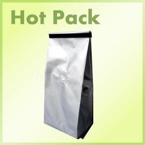 China Side Gusseted Coffee Packaging Pouch  Bgas With One Way Degassing Valve supplier