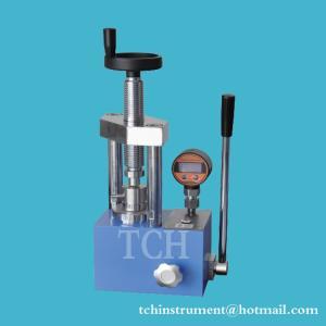 5T lab hydraulic manual powder pellet press machine in stock