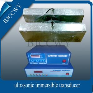 China Stainless Steel 2000W Immersible Ultrasonic Transducer 650x450x100mm on sale