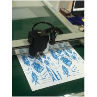 Sticker Decal Kiss Cut Plotter Half Cut Flatbed Cutting Machine