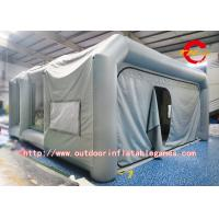 Customized Portable Inflatable Paint Booth Trailer Movable Spray Booth For Car